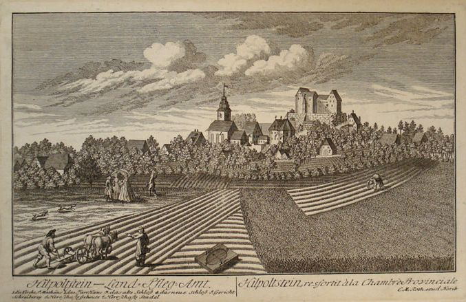 Kupferstich Christoph Melchior Roth 1760 - Quelle Wikiwand