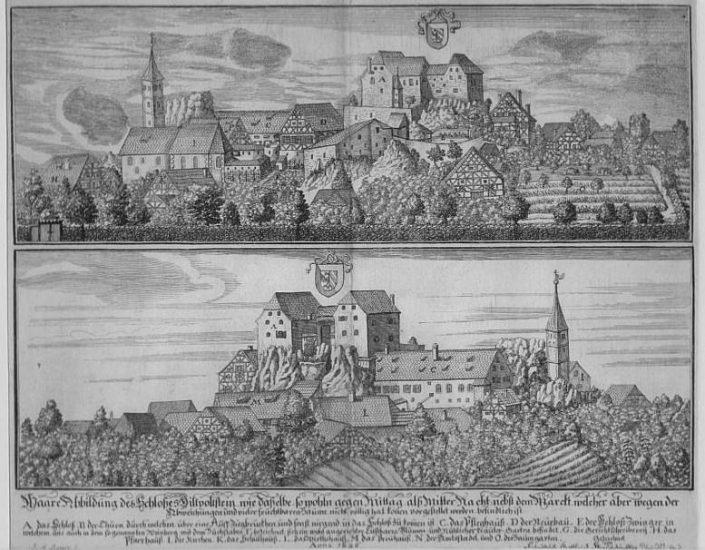 Kupferstich Johann Alexander Boener 1696 - Quelle Wikiwand