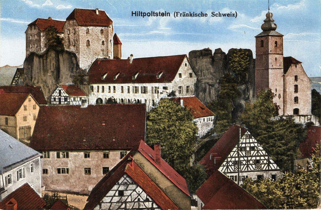 Ort und Burg Hiltpoltstein - Quelle Wikiwand