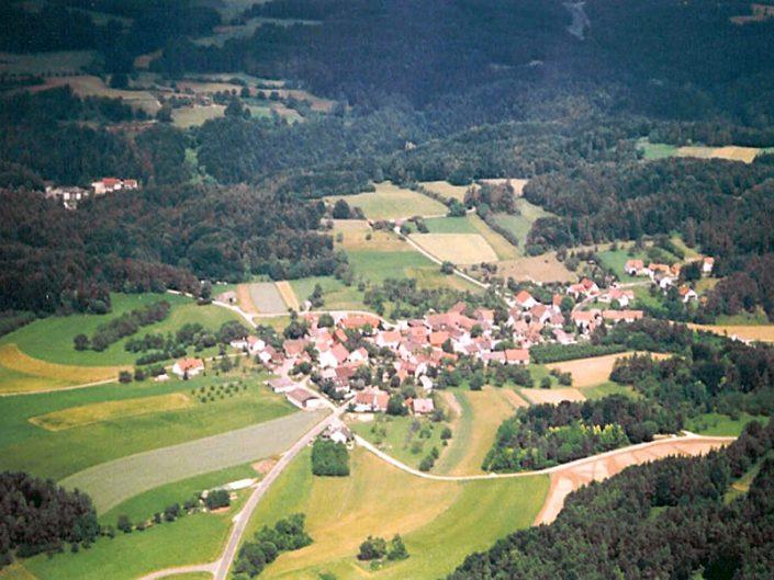 Schossaritz Luftbild